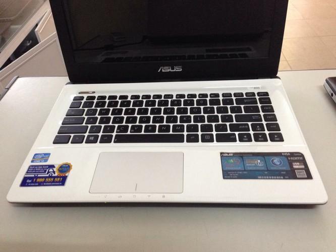 Laptop cũ Asus K45A Core i3-3120,Ram 4Gb,HDD 500G màu trắng