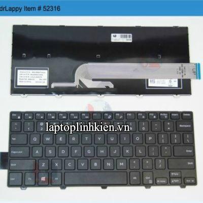 Thay bàn phím laptop Dell Inspiron 14 3442 , 3442 ,14 3000 3442