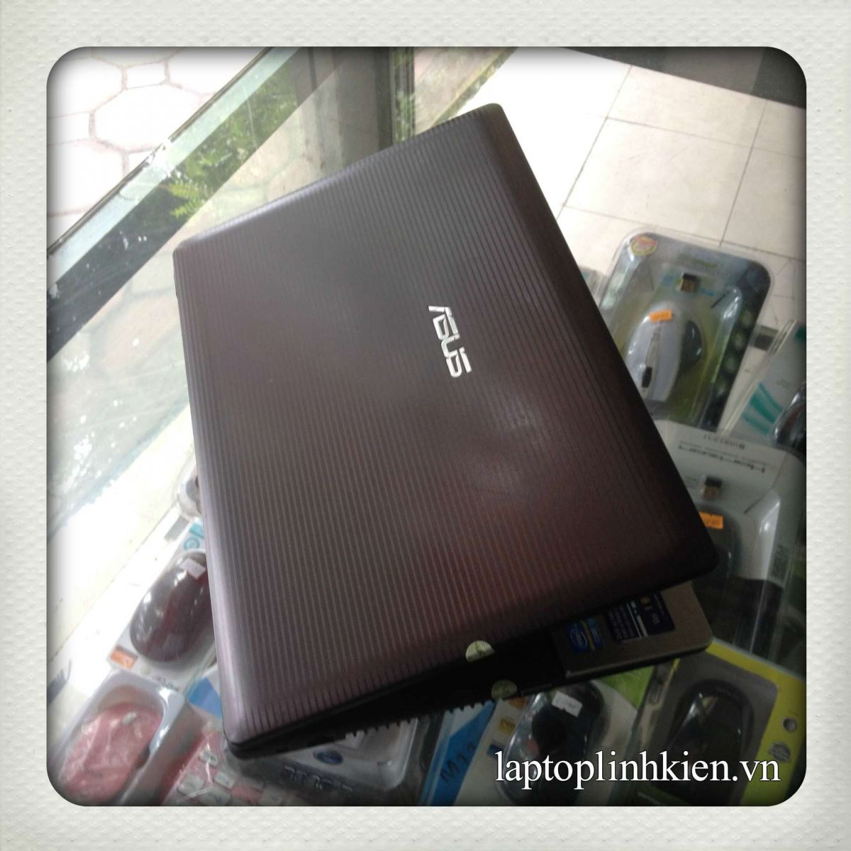 Laptop cũ Asus K45A Core i3-3120,Ram 4Gb,HDD 500GB