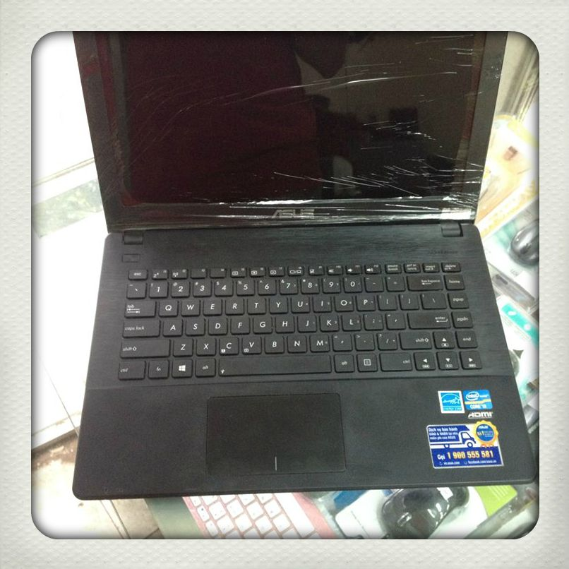 Laptop cũ Asus X451CA Core i3-3217 Ram 2GB HDD 500GB 14