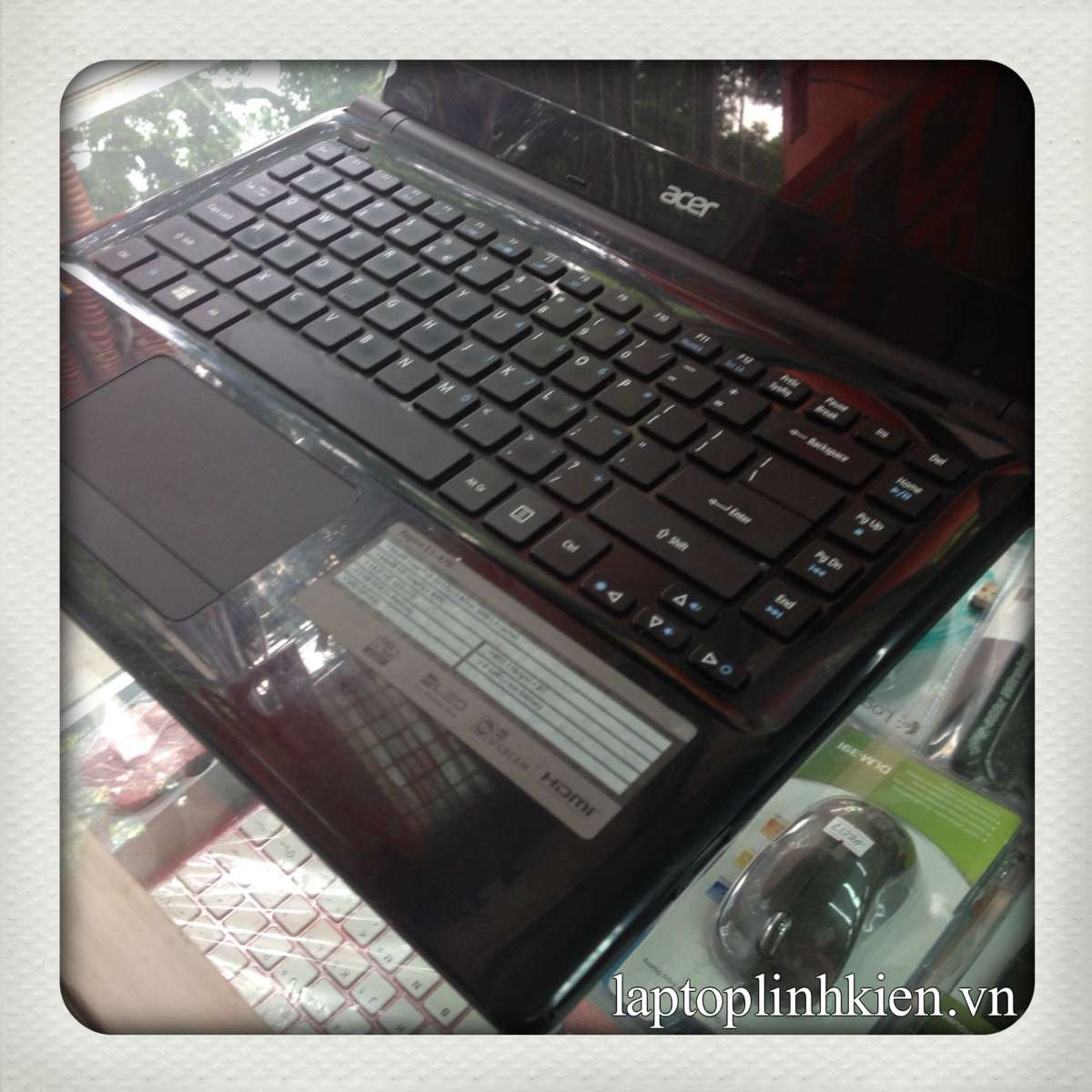 Laptop cũ Acer E1-470 Core i3-3217 Ram 2GB HDD 500GB,14